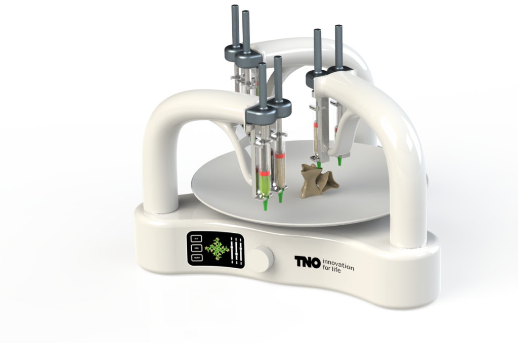 TNO Food printer concept 3 arm