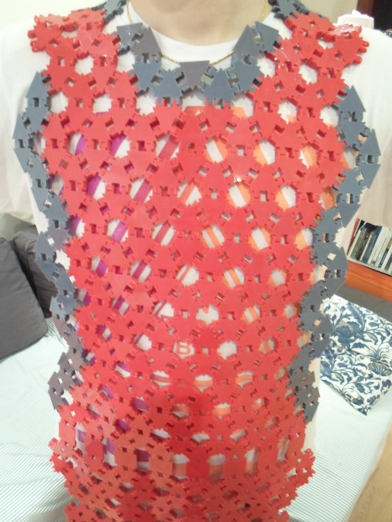 3D printed apron