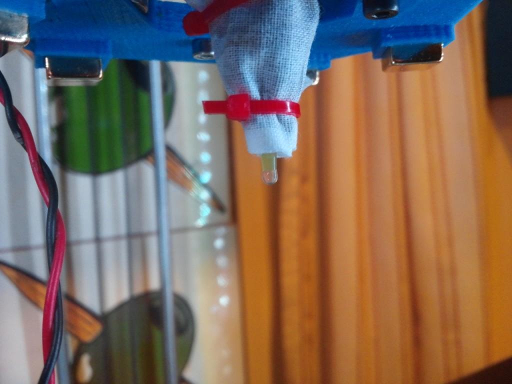 Dripping agar agar drop