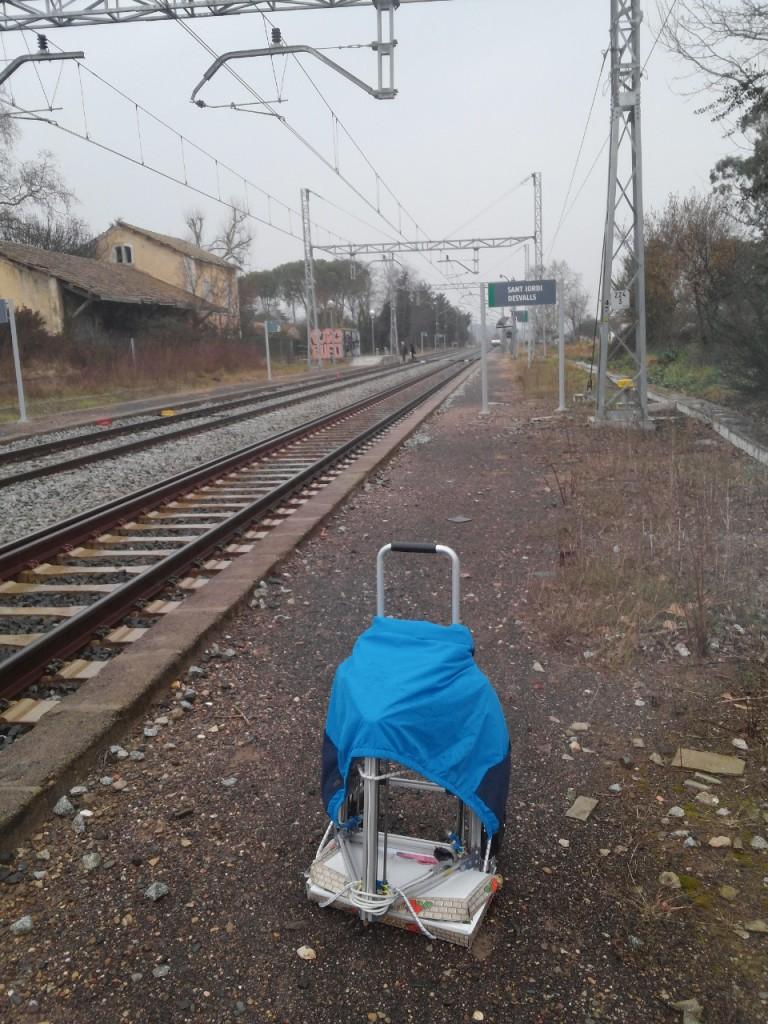 Pinya2 Train station