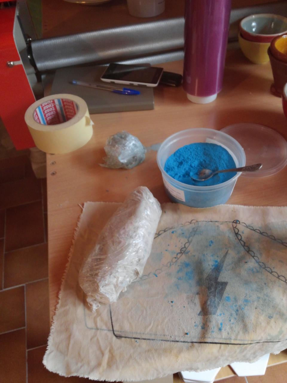 Preparing clay