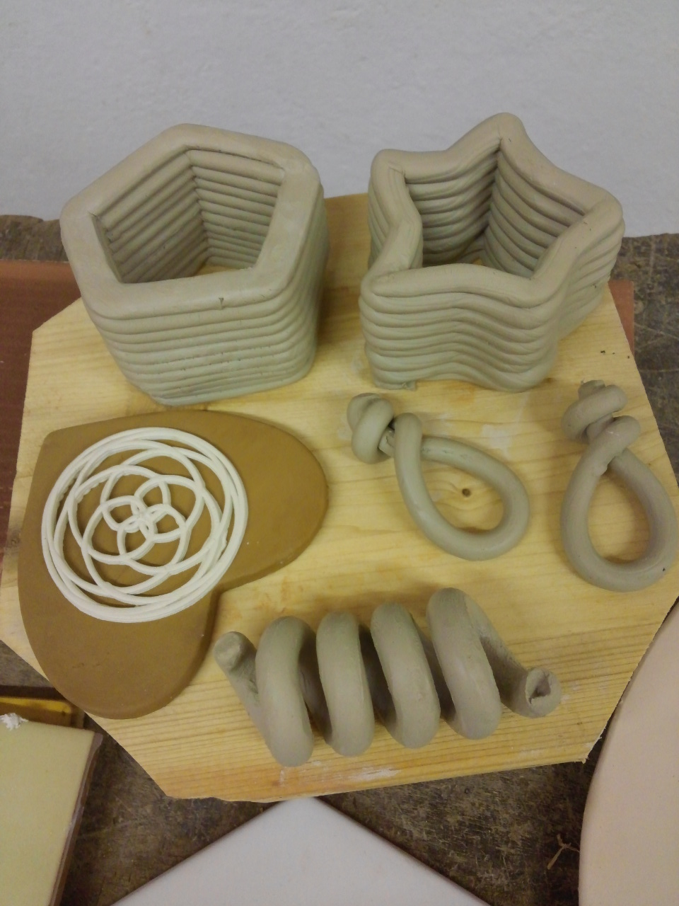 Printing ceramics day one results