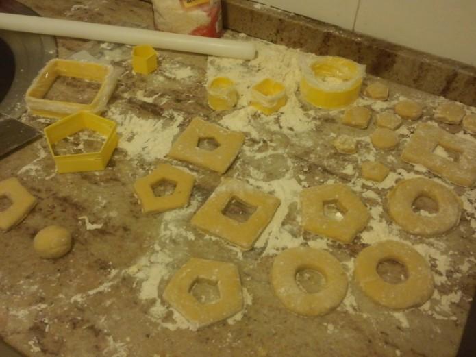 Cutting doughnuts 3d printed cutters