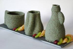 VormVrij Marzipan Vases emtpy