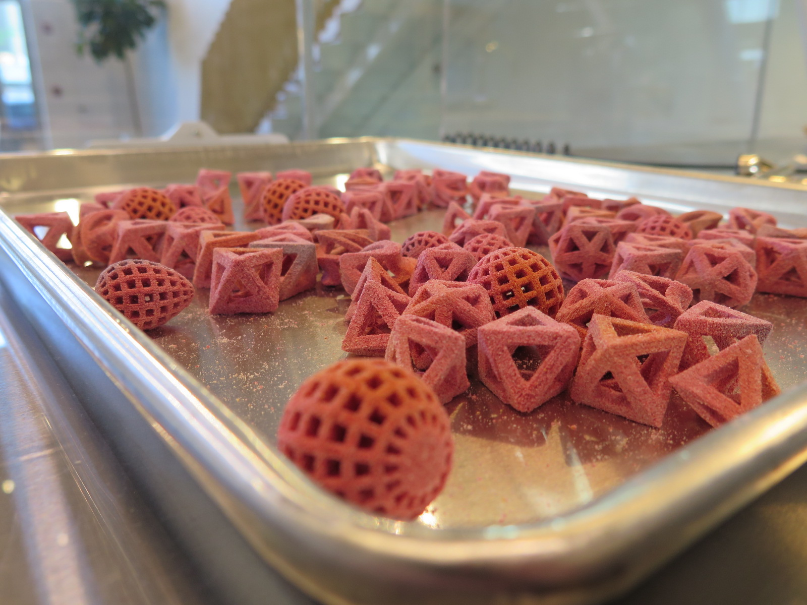 3D Printed Food Tasting #2 - Culinary Lab - 3Digital Cooks