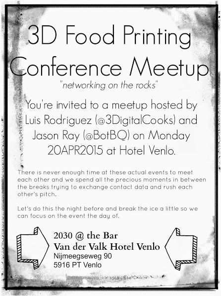 Meet up 3D Food Conference