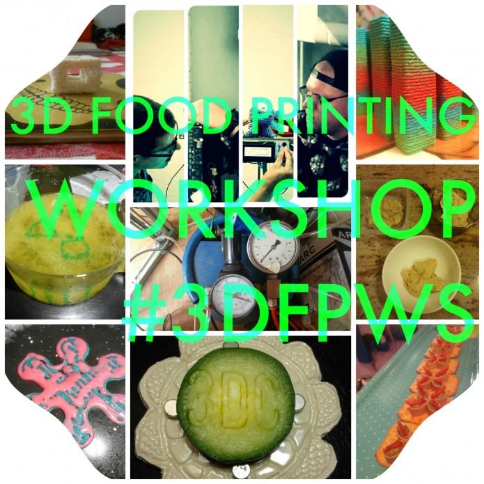 3d food printing workshop